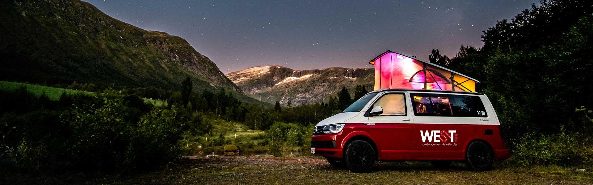 aménagement véhicule camping car