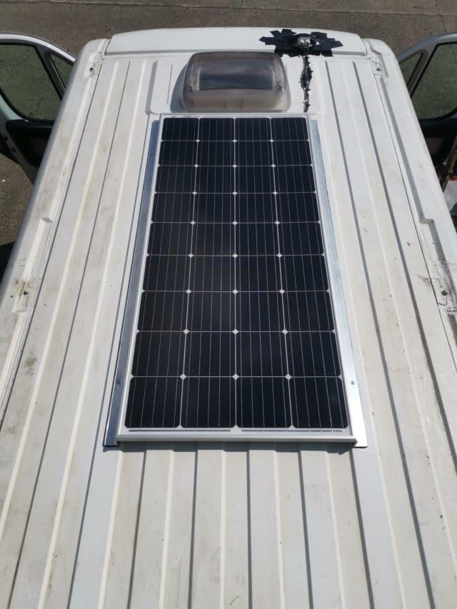 installation panneaux solaires fiat ducato
