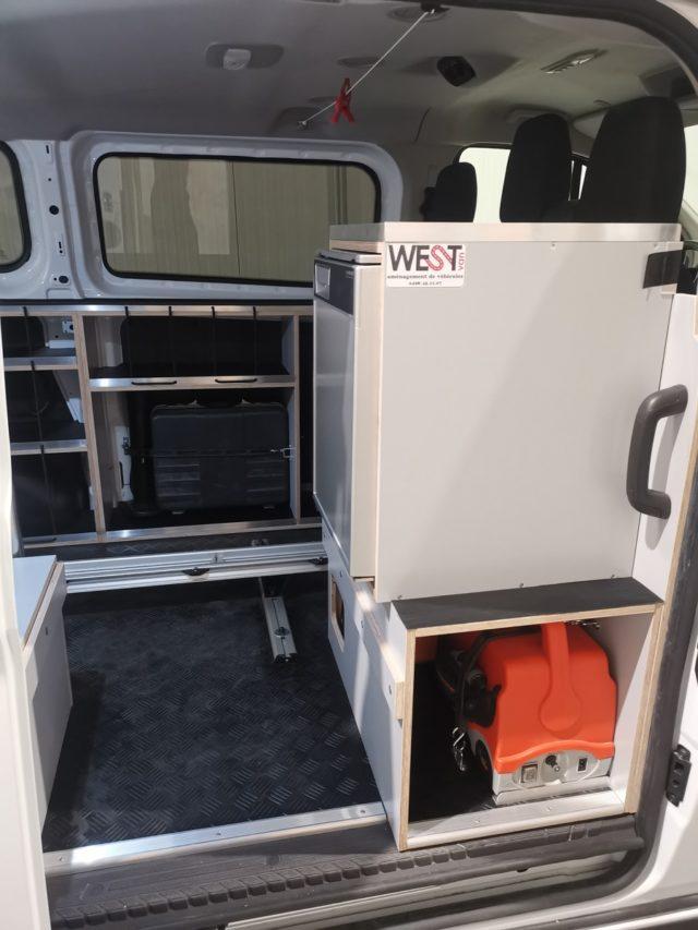 frigo congélateur pour van ford transit