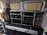armoires pour van ford transit