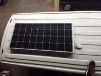 installation panneau solaire van